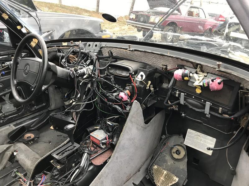 W126 Interior