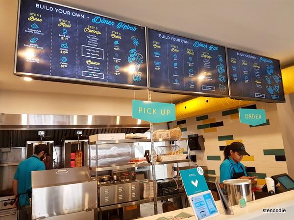 ZIBA Berlin Döner menu