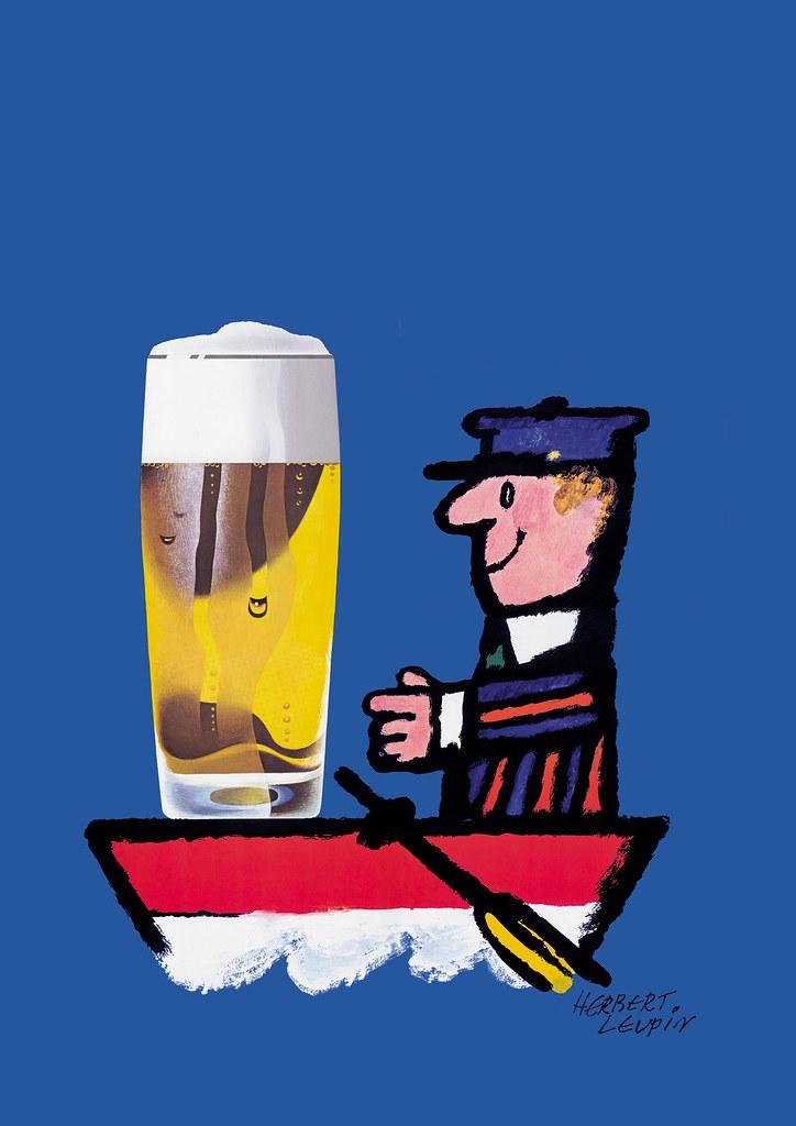 Bier im Boot