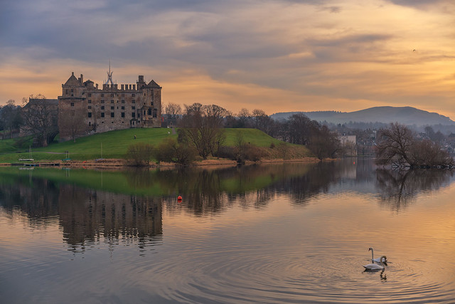 In Explore: Linlithgow Loch and Palace (Thanks for all the likes and comments)
