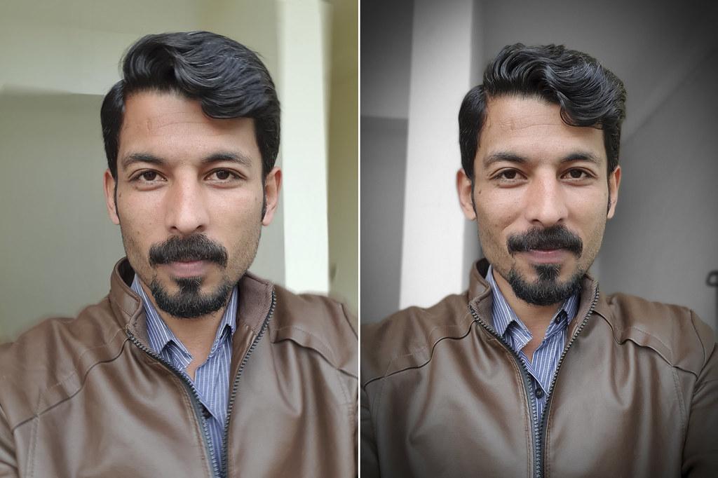 Selfie with Samsung Galaxy S10 Plus