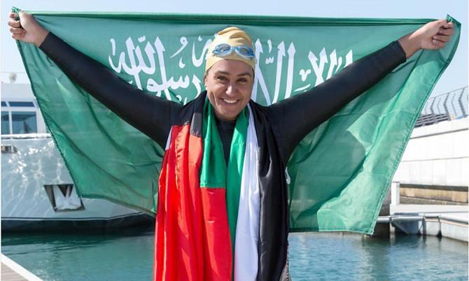 3480 Saudi Woman is the first swimmer to cross Dubai Creek – Dubai Water Canal 02