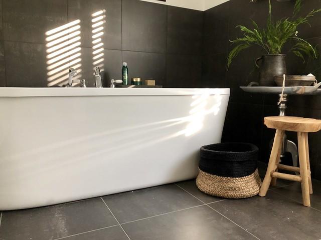 Badkamer landelijke accessoires