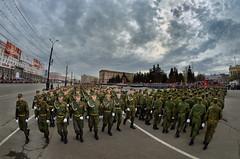Военный парад, Россия - Military parade, Russia