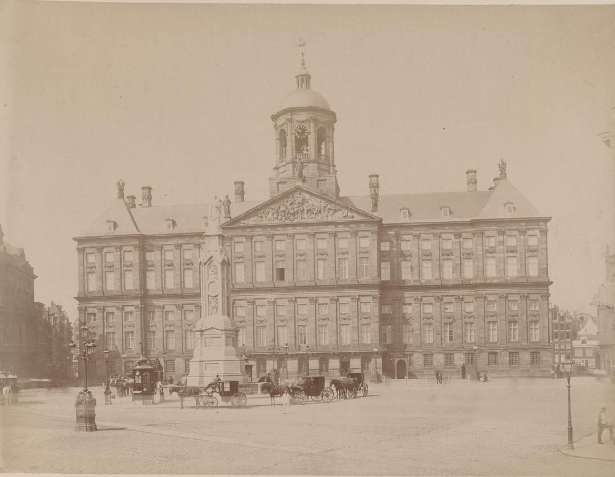 Амстердам. Королевский дворец, 15 мая 1888