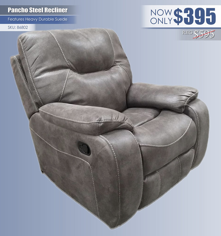 Pancho Steel Recliner_86802