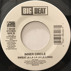 INNER CIRCLE:BAD BOYS(THEME FROM COPS)(LABEL SIDE-B)