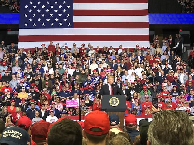 Donald Trump rally in Grand Rapids, Michigan (March 28, 2019)