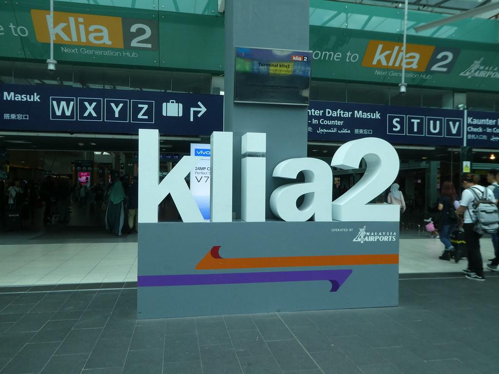 Arriving at KLIA2 Kuala Lumpur