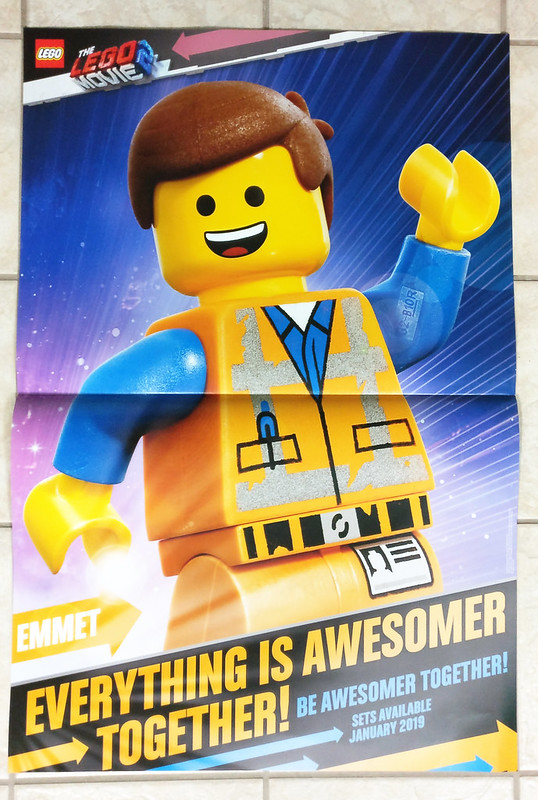 The LEGO Movie 2 Emmet Poster