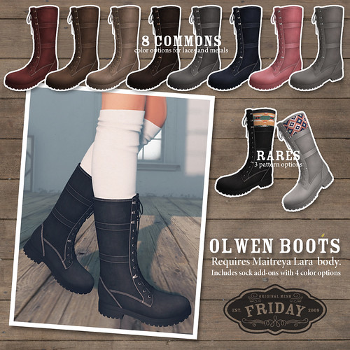 friday - Olwen Boots for The Epiphany January!