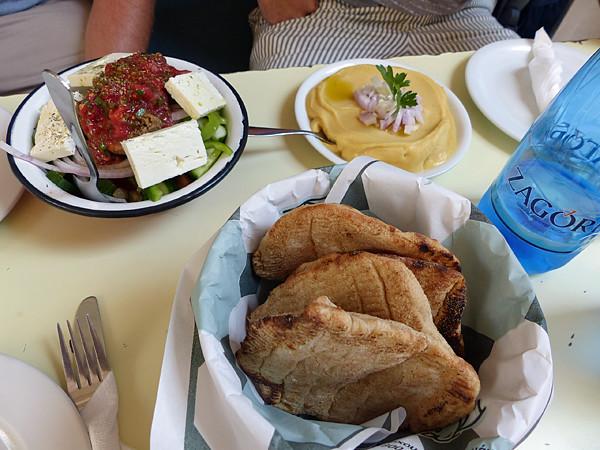 déjeuner à kolonaki