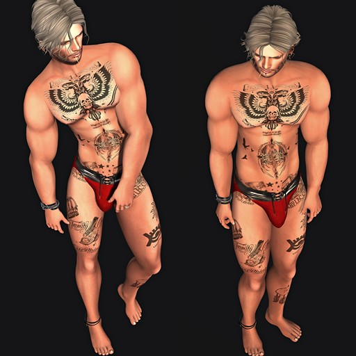 SuBLiMe PoSeS – Static Male Set