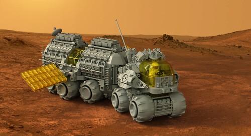 All Terrain Mobile Laboratory Rover