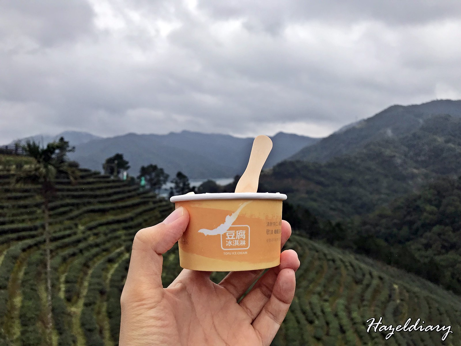 Shiding Thousand Island Lake-Tofu Ice Cream