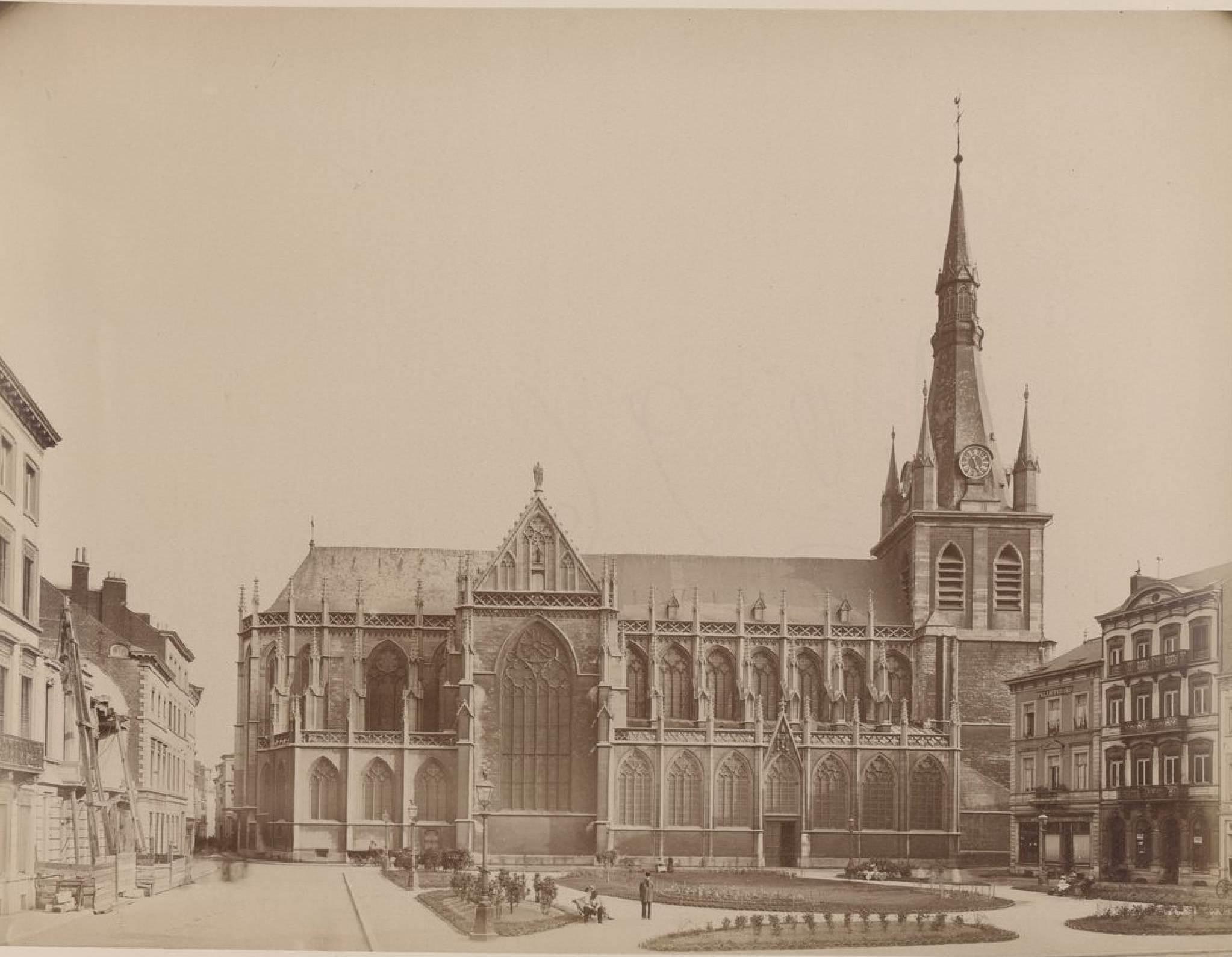 Бельгия. Льеж. Льежский собор. 19 мая 1888