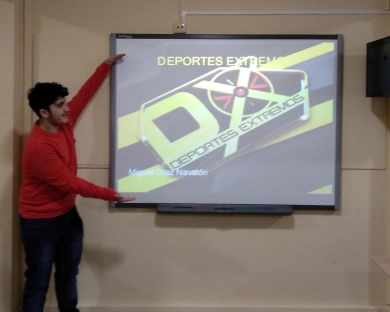 Presentación deportes extremos TIC