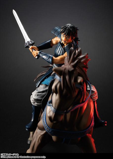 【官圖&販售資訊更新】 ZERO《王者天下》「信 騎馬出陣之姿」魄力登場!フィギュアーツZERO 信-出陣-