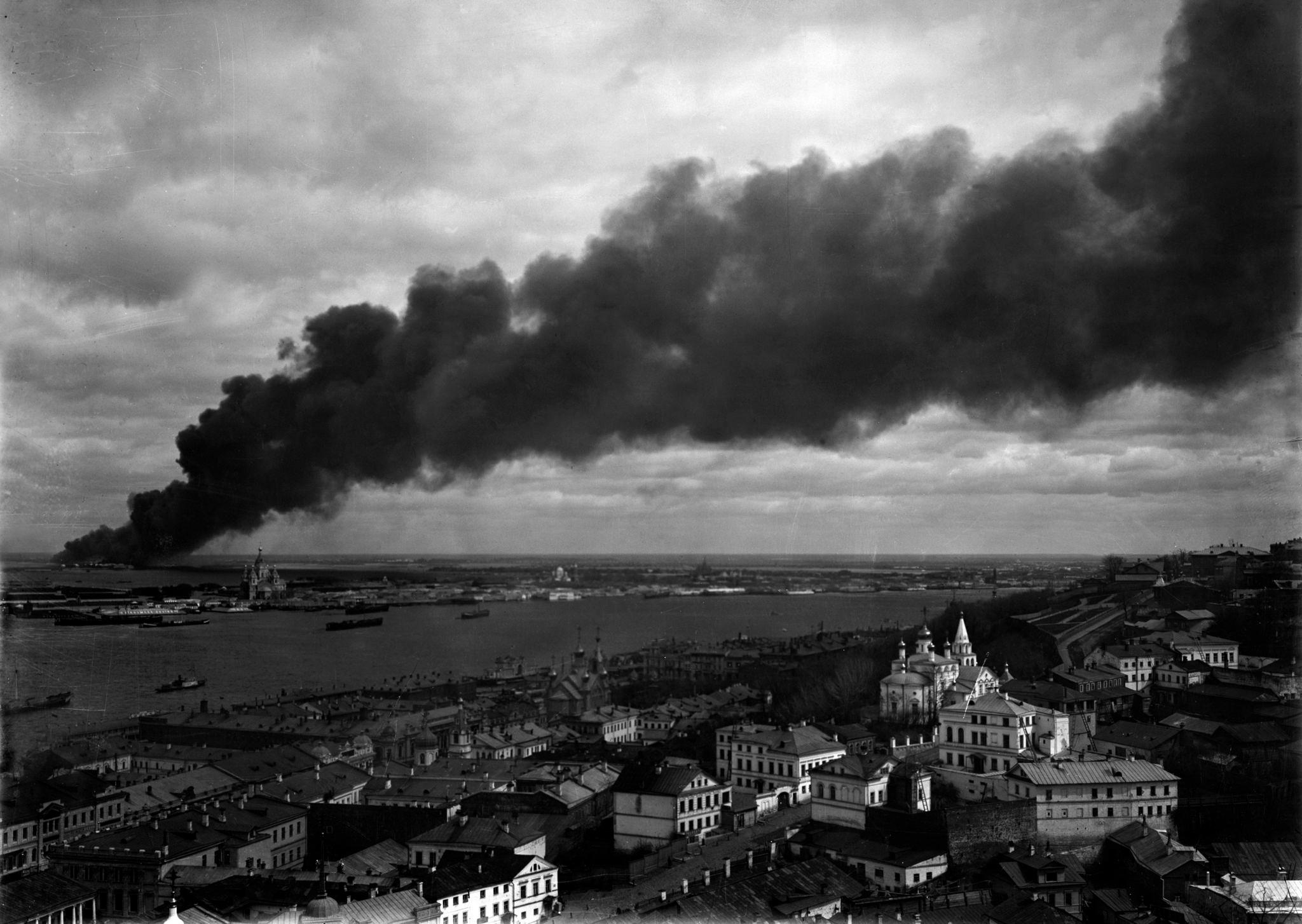 Пожар в Сормово
