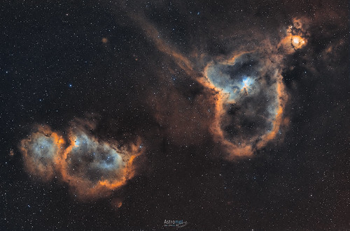IC1805 and IC1848 - The Heart and Soul Nebulae | by José Jiménez - Astromet