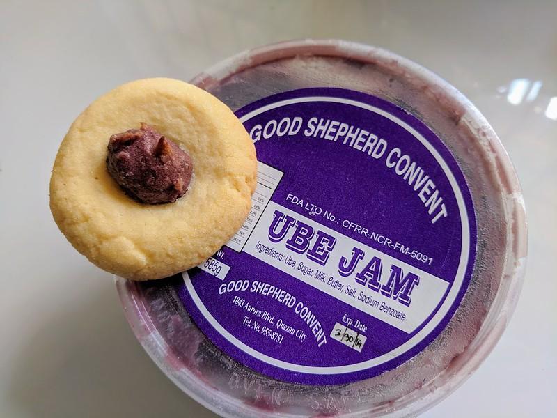 Good Shepherd ube jam