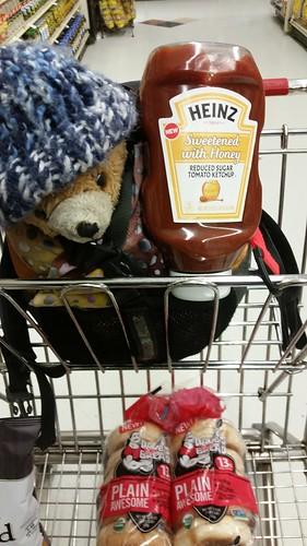 Bear Likes This Ketchup