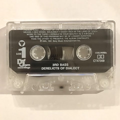 3RD BASS:DERELICTS OF DIALECT(TAPE SIDE-A)