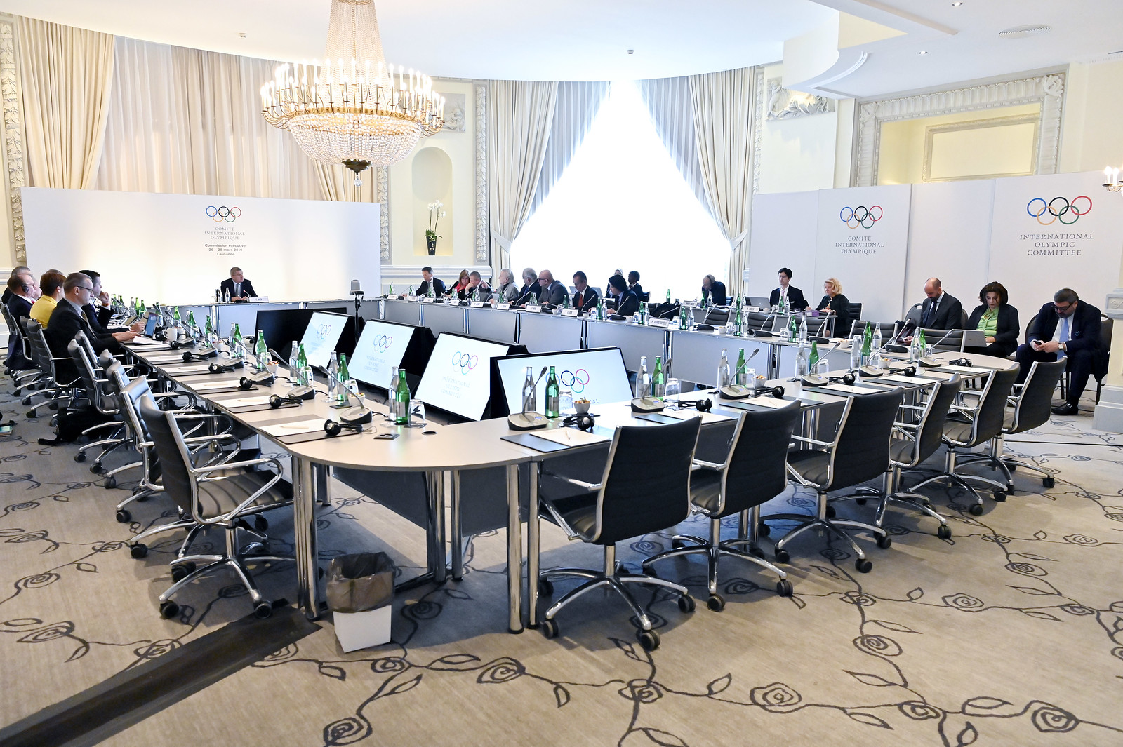 Lausanne | Switzerland, IOC Executive Board in Lausanne Palace, 2019