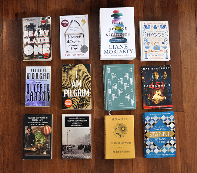 Finished Reading List For 2018