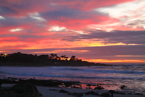 Pacific Grove, California Sunset, Christmas 2018