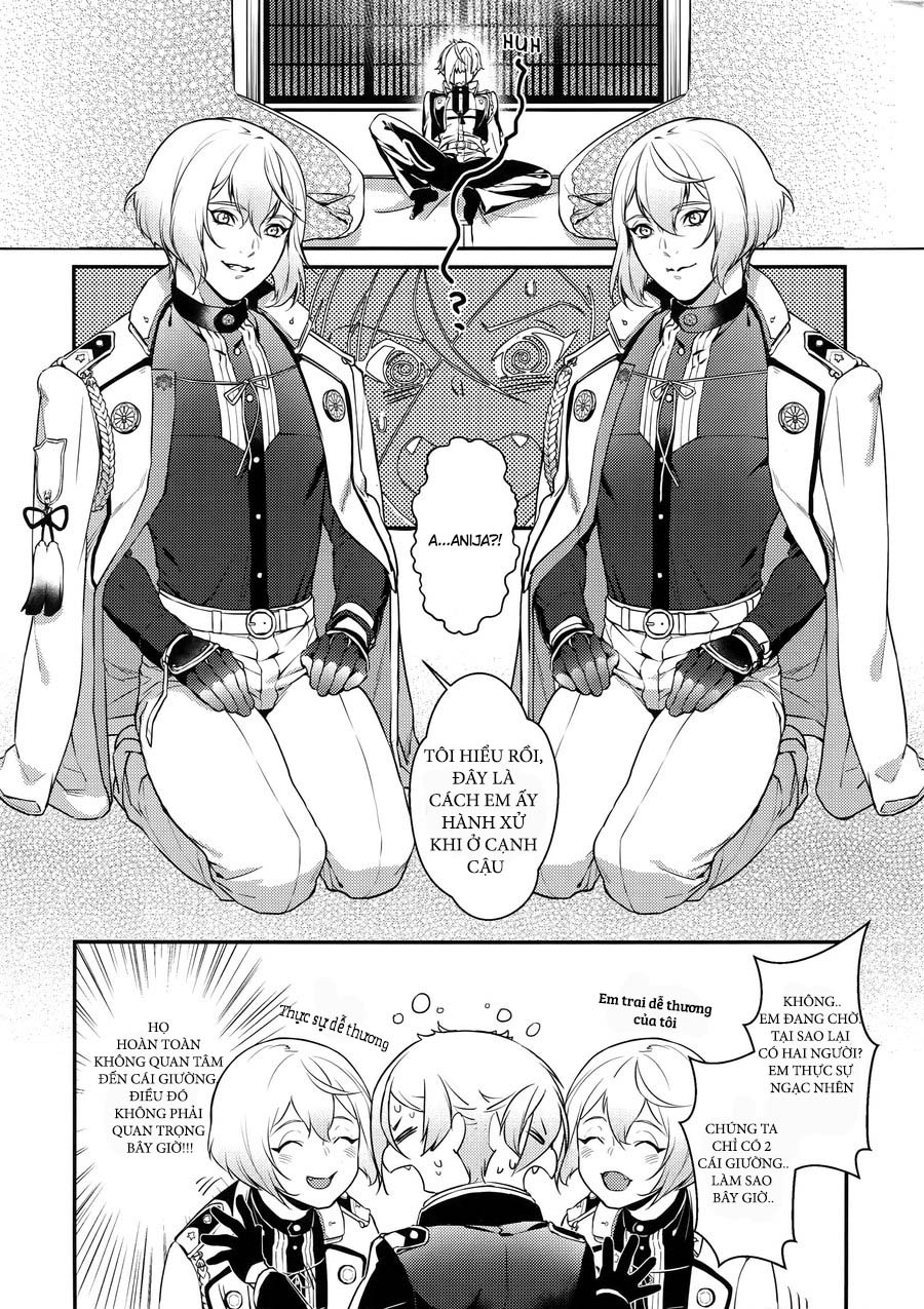 {Fruit Team - Hard} Midnight – Touken Ranbu Dj Chap 1 page 3 - Truyentranhaz.net