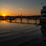 River Hamble Sunset