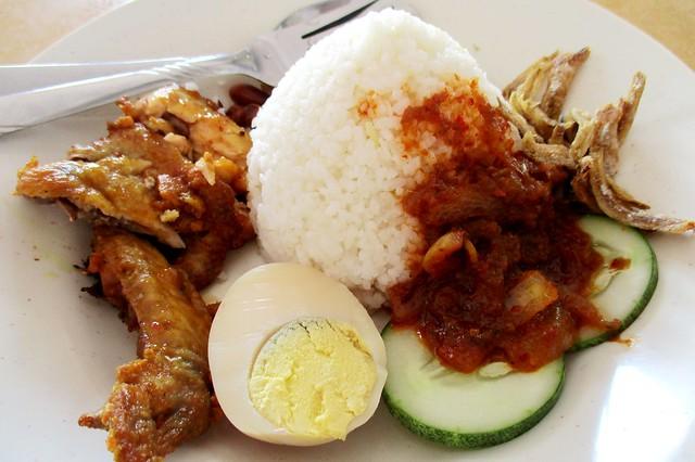Nasi lemak kukus special