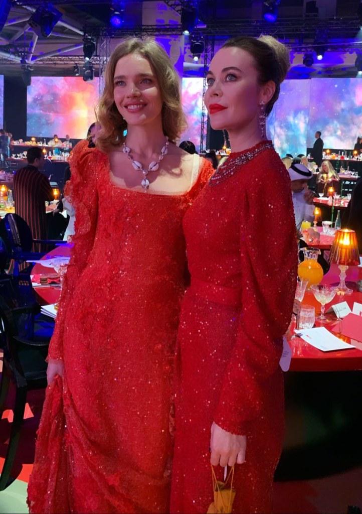 Водянова и Ульяна Сергеенко