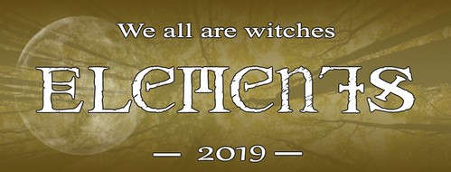 Evènement We all are witches 2019 sur facebook