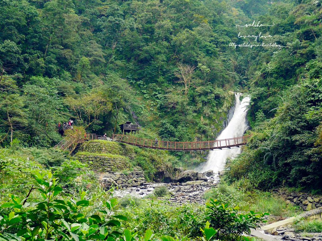 宜蘭冬山鄉好玩踏青郊遊爬山景點旅遊新寮瀑布第二層瀑布開放 (1)