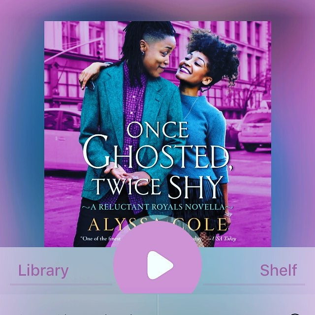 #currentlyreading One Ghosted Twice Shy by Alyssa Cole. Stepping WAY out of my comfort zone for this one. #tbsreads