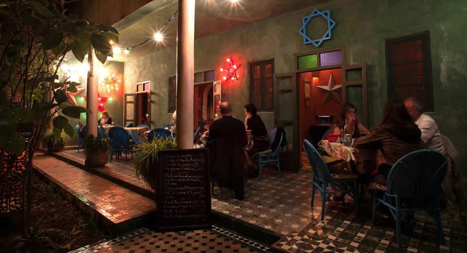 Restaurant in Fez: Fez Café (foto met dank aan Café Fez) | Mooistestedentrips.nl