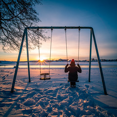 Cold sunset - Helsinki, Finland - Travel photography