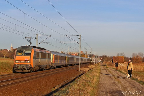BB26162 + TER VDM - V160 - Train n°839172 Strasbourg-Ville > Paris-Est
