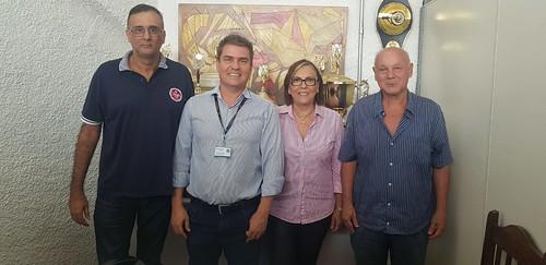 Reunião com os chefes para os Jogos Regionais