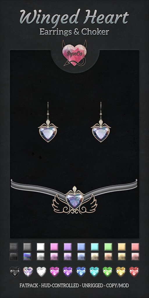SynCo – Winged Heart Set ♥