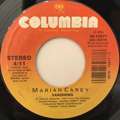 MARIAH CAREY:EMOTIONS(LABEL SIDE-B)