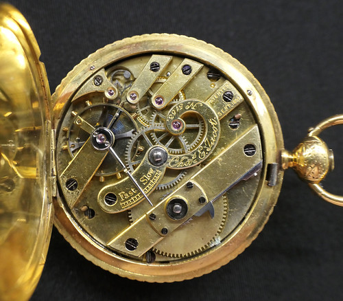 Carrie's watch inside and case reflection - Explore!