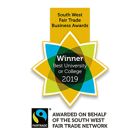 Gold award for Best Fairtrade University 2019