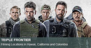 Where was Triple Frontier filmed