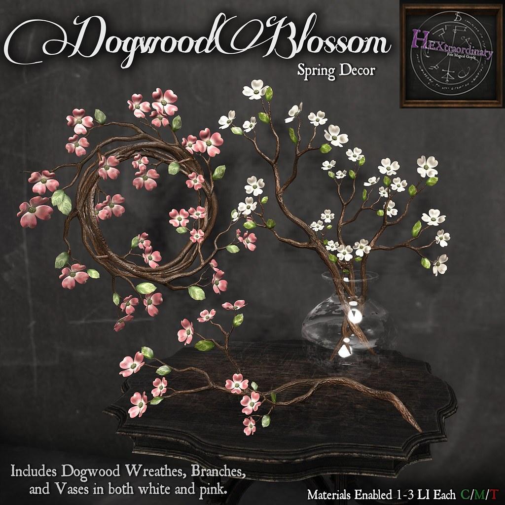 Dogwood Blossom Decor