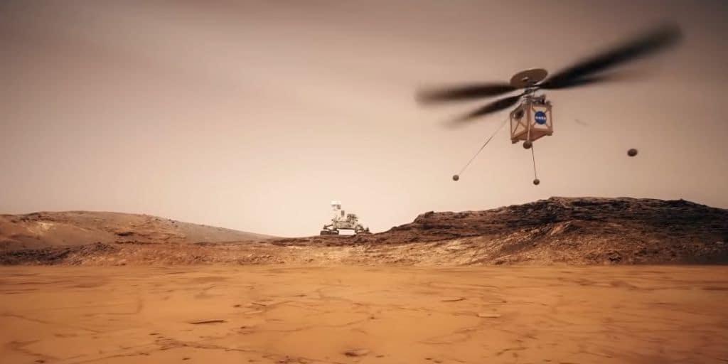 mars2020-hélicoptère-nasa