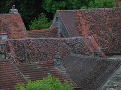 20080523 28328 Montbard Häuser Dächer - Photo of Quincy-le-Vicomte