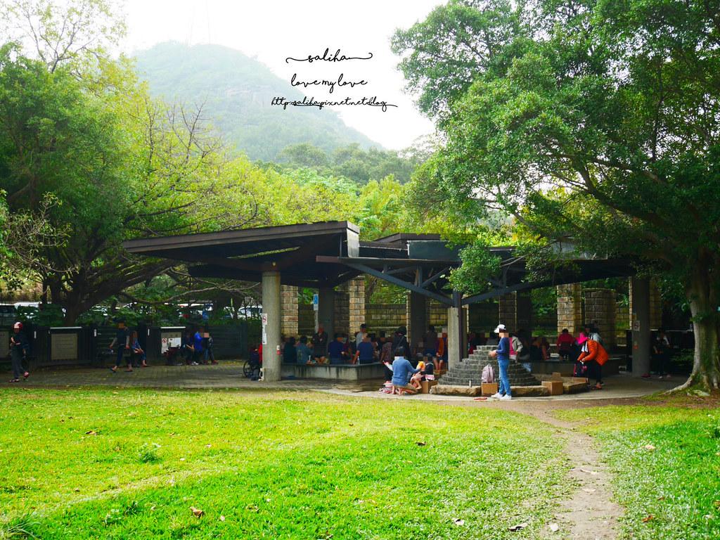 台北陽明山一日遊景點推薦硫磺谷龍鳳谷公園免費泡湯溫泉泡腳池 (6)